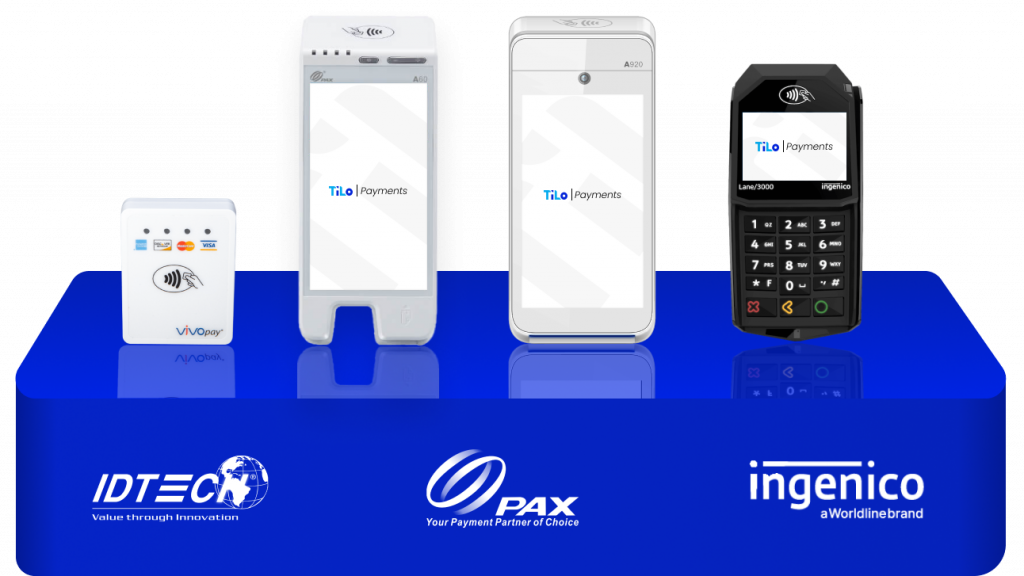 Supported devices in Bridgepay